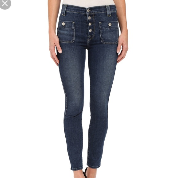 7 For All Mankind Denim - Mid rise pocket jeans